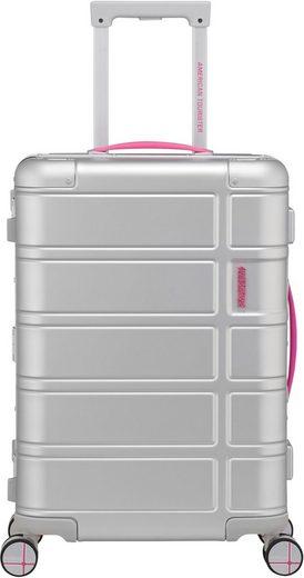 American Tourister® Hartschalen-Trolley »Alumo, 55 cm, pink«, 4 Rollen