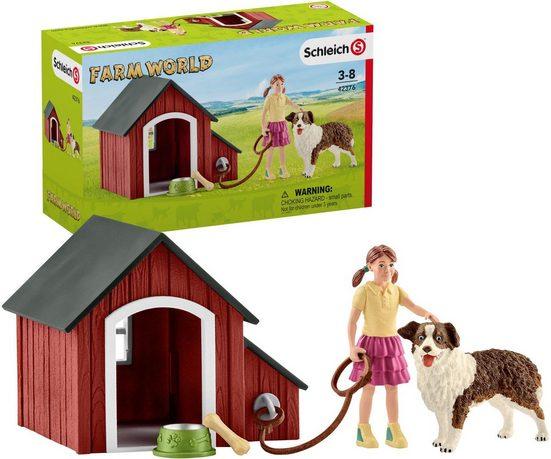 Schleich® Spielfigur »Farm World, Hundehütte (42376)«