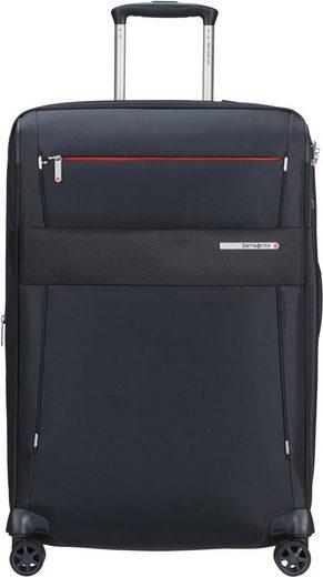 Samsonite Weichgepäck-Trolley »Duopack, 67 cm, navy blue«, 4 Rollen