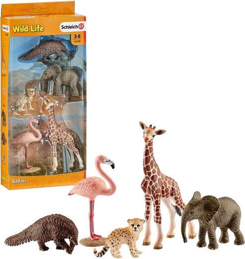 Schleich® Spielfigur »Wild Life, Tier- Mix (42388)«, (Set)