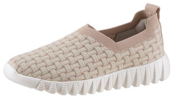 BERNIE MEV »Zip Jim Wave« Slip-On Sneaker mit dehnbaren Schaft