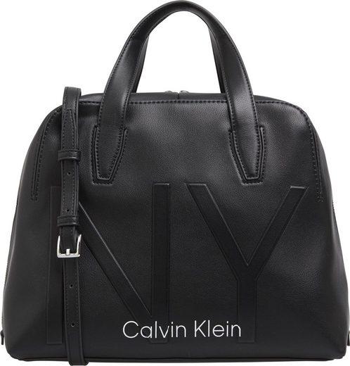 Calvin Klein Henkeltasche »SHAPED DUFFLE«, in schlichter Optik