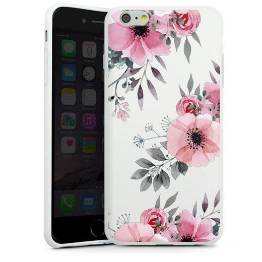 DeinDesign Handyhülle »Blumen rosa ohne Hintergrund« Apple iPhone 6s Plus, Hülle Blume transparent Blumen