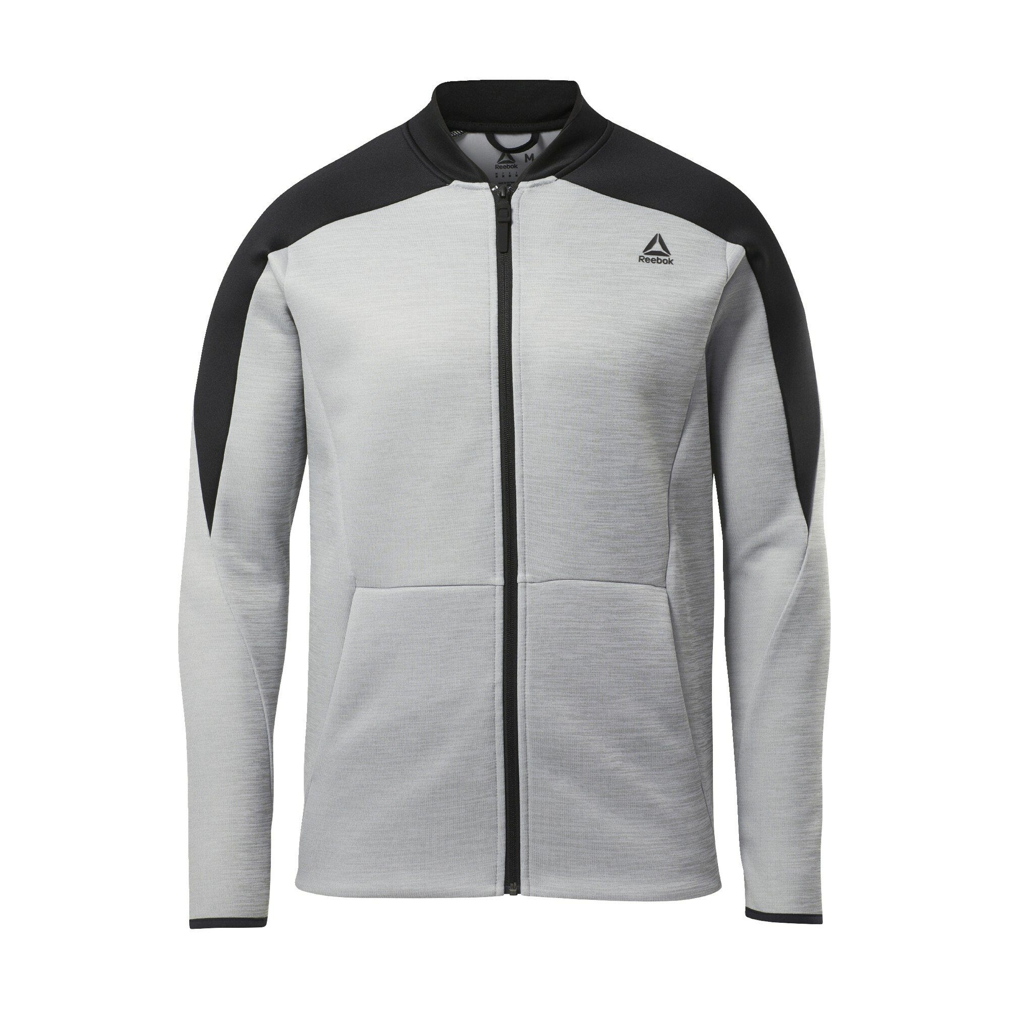 Reebok Trainingsjacke »One Series Training Spacer Track Jacket«, Spacer Material aus 100 % Polyester online kaufen | OTTO