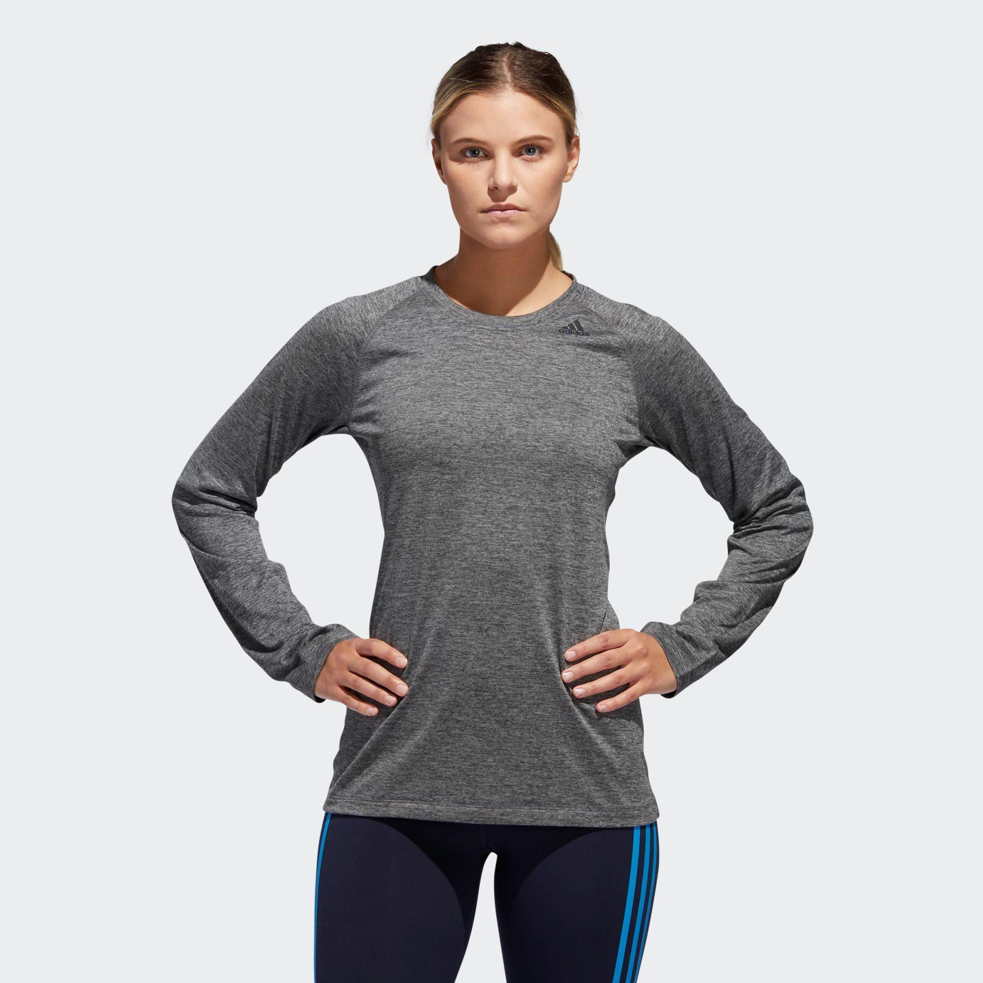 adidas Performance Langarmshirt »Own the Run Longsleeve« Response, Rundhalsausschnitt online kaufen | OTTO