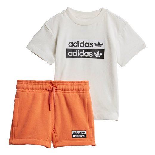 adidas Originals Trainingsanzug »R.Y.V. Shorts und T-Shirt Set«, Ryv