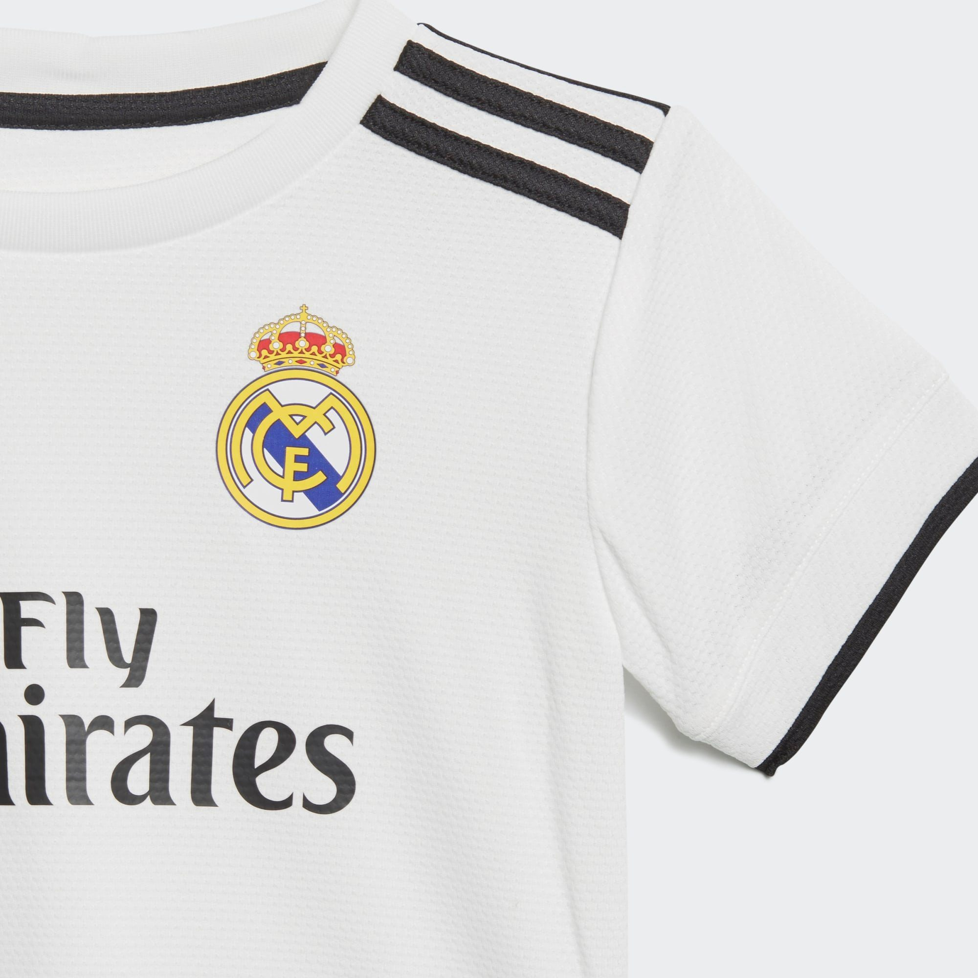 adidas Performance Sportanzug »Real Madrid«, Gerippter Rundhalsausschnitt online kaufen | OTTO