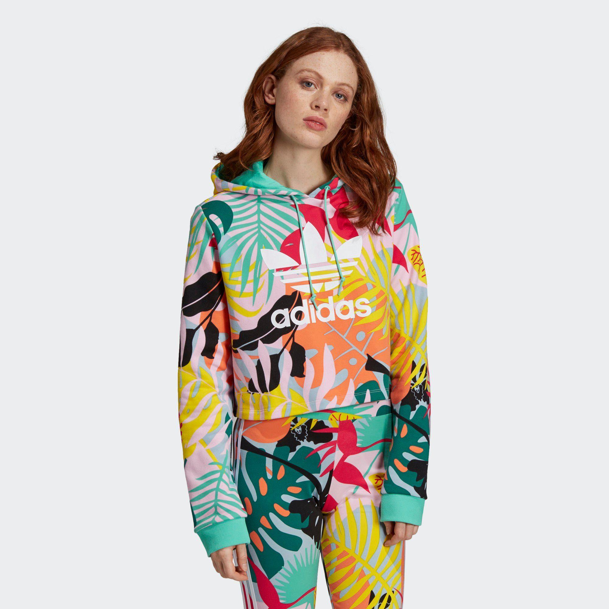 Adidas Originals Cropped Damen Hoodie online kaufen | Keller x