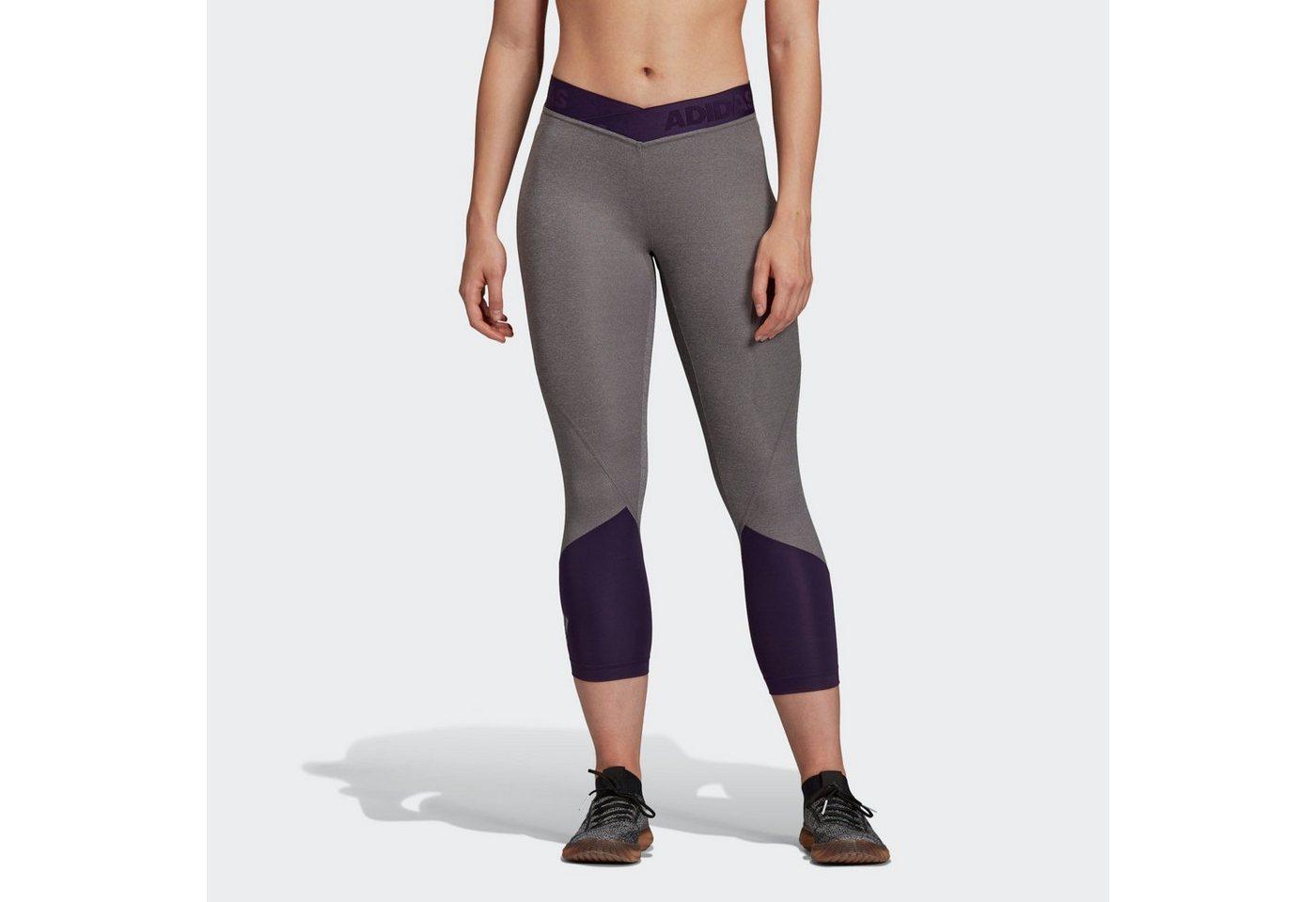 Damen adidas Performance Funktionstights »Alphaskin Sport 2.0 Graphic 3/4-Tight« AlphaSkin    04060515482865