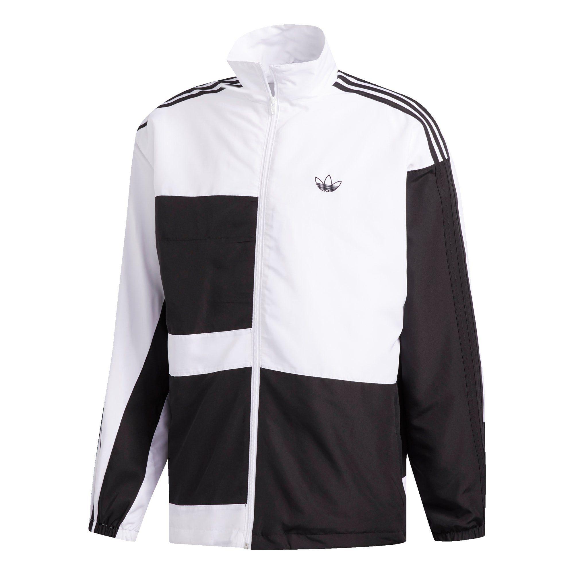 college jacke adidas schwarz weiß