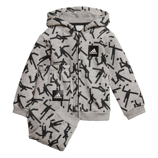 adidas Performance Trainingsanzug »Mini Me ID Hooded Jogginganzug«