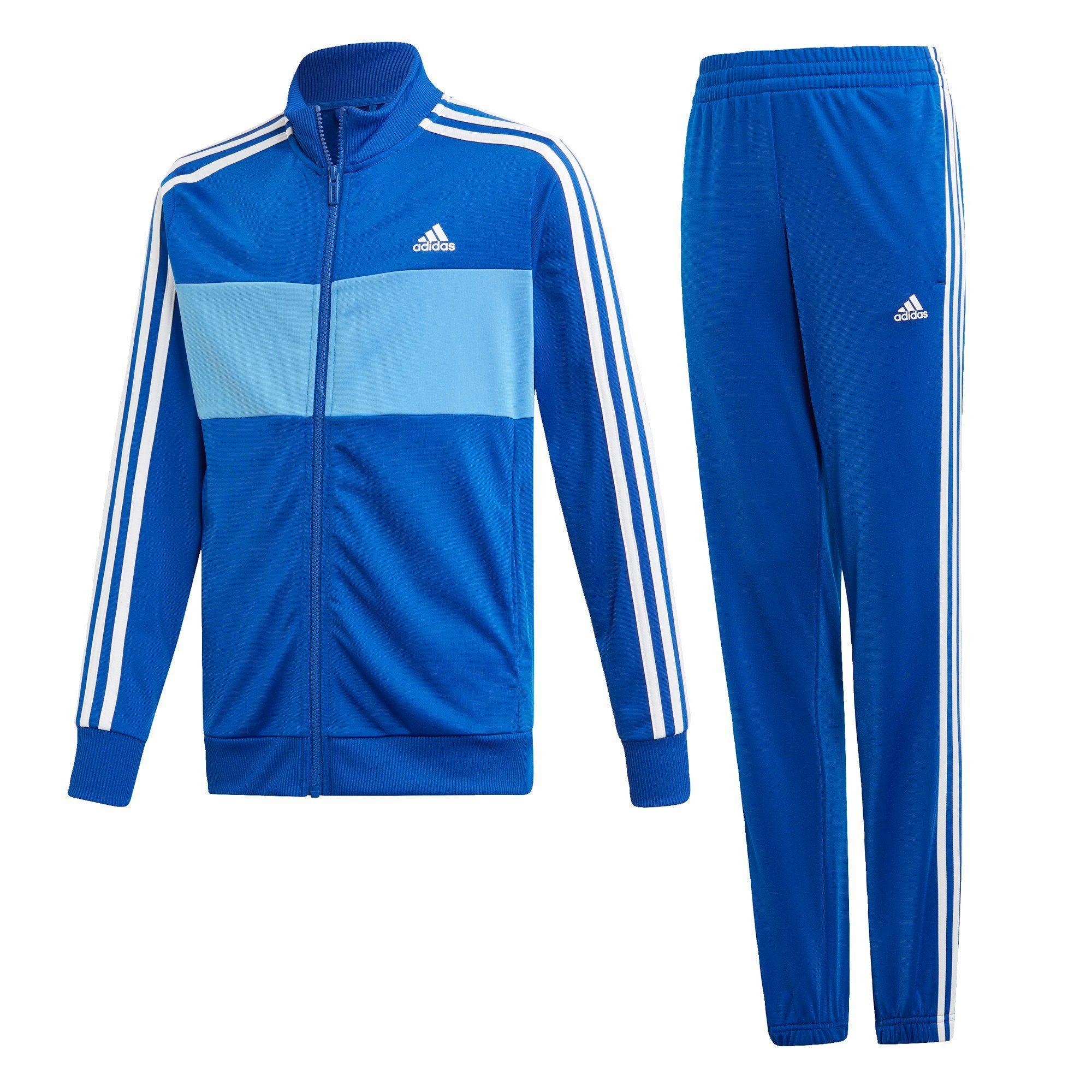adidas Performance Trainingsanzug »Tiberio Trainingsanzug«, Jacke und Hose: 100 % recycelter Polyester (Trikot) online kaufen | OTTO