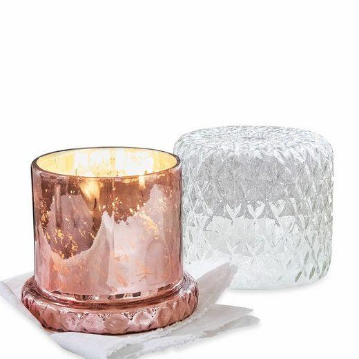 Mirabeau Windlicht mit Kerze »Touvois«