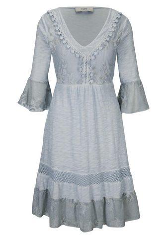 HEINE CASUAL nėriniuota suknelė su žvyneliai...