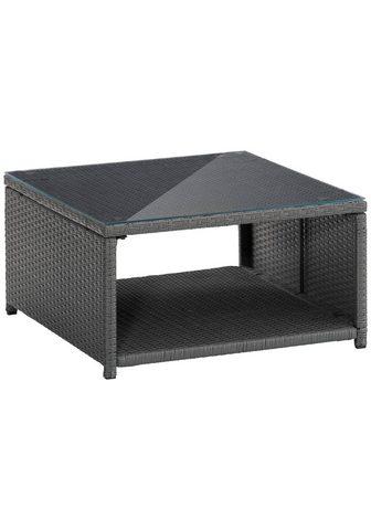 KONIFERA Dėžė - stalas »Malta« Polyrattan 69x69...