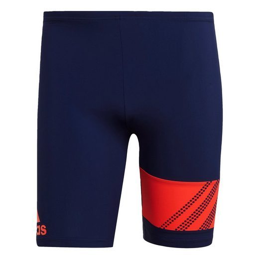 adidas Performance Badehose »Placed Print Fitness Swim Jammers«