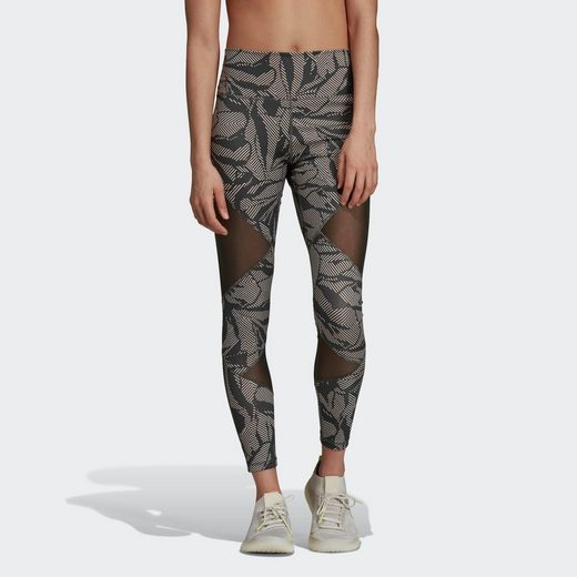 adidas Performance Funktionstights »Believe This High-Rise Linear Floral Mesh Lange Tight« Clima