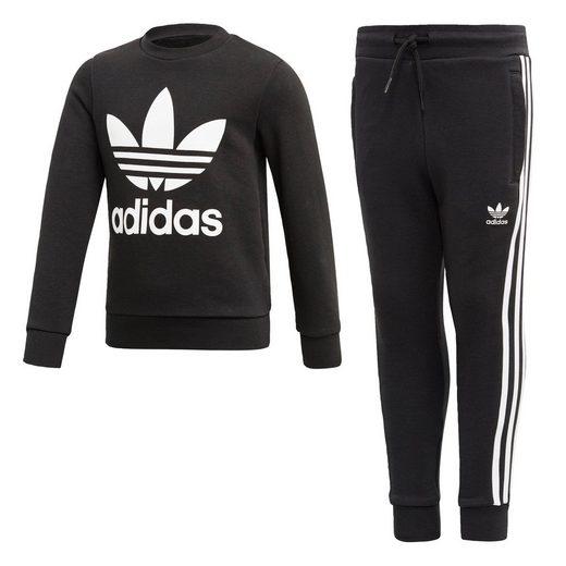 adidas Originals Trainingsanzug »Crew Sweatshirt Set«, adicolor