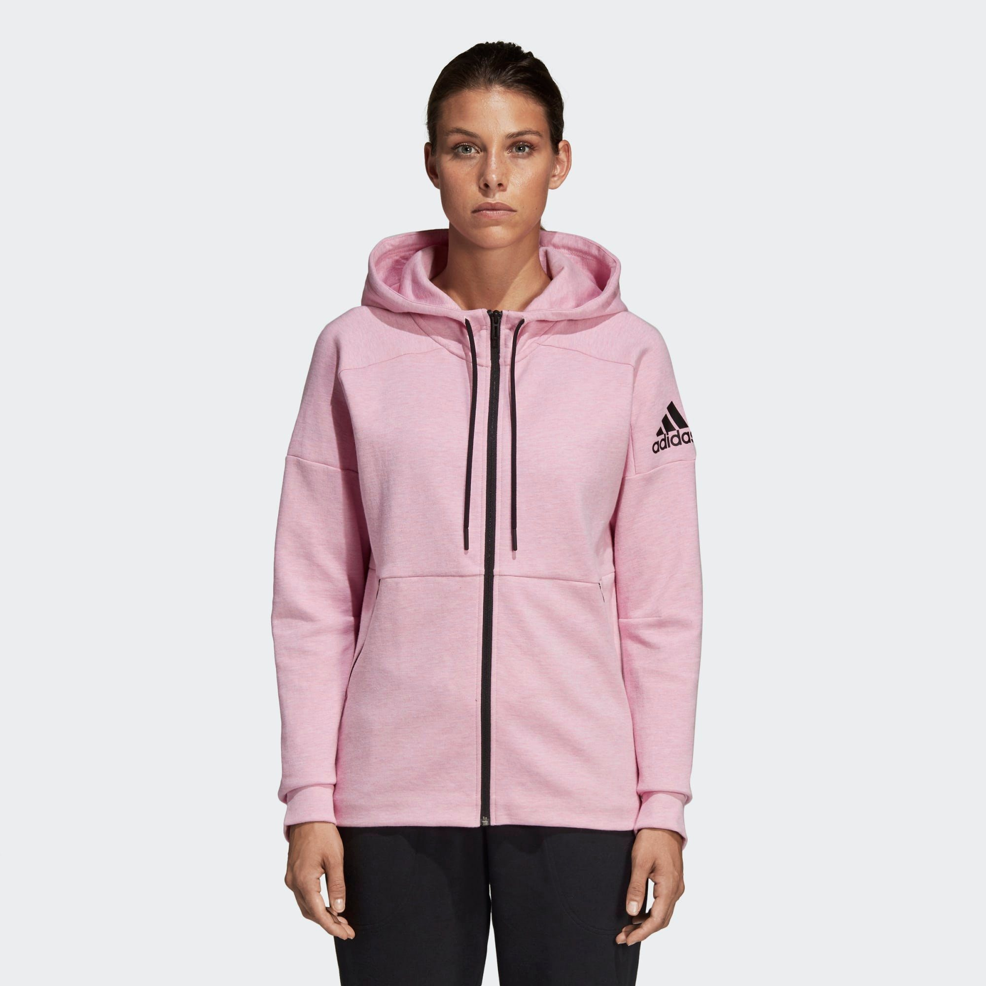 ADIDAS PERFORMANCE Sweatjacke 'ID Stadium' in pink bei ABOUT