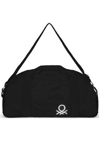 UNITED COLORS OF BENETTON Kelioninis krepšys »Foldable black«