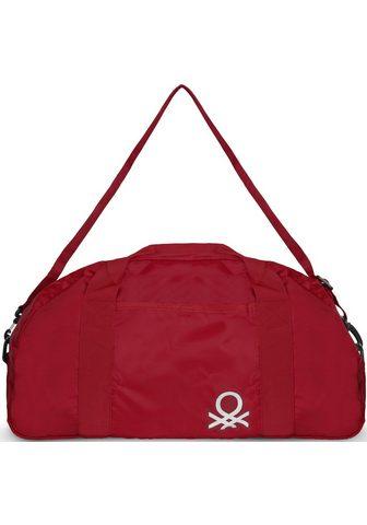 UNITED COLORS OF BENETTON Kelioninis krepšys »Foldable dark red«...