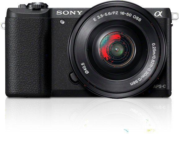 Systemkameras - Sony »Alpha ILCE 5100L« Systemkamera (24,3 MP, NFC, WLAN (Wi Fi), inkl. 16 50mm Objektiv)  - Onlineshop OTTO