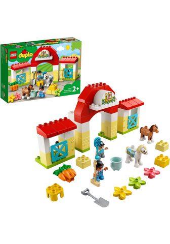 LEGO ® Konstruktionsspielsteine »Pferdestal...