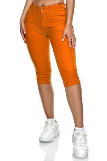 Egomaxx Jeansshorts »3324« Damen Jeans Shorts MERINA