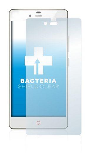 upscreen Schutzfolie »für ZTE Nubia Z9 Mini«, Folie Schutzfolie klar antibakteriell