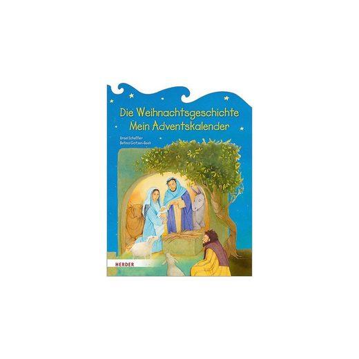 HERDER Verlag Wandkalender »Adventskalender Die Weihnachtsgeschichte«
