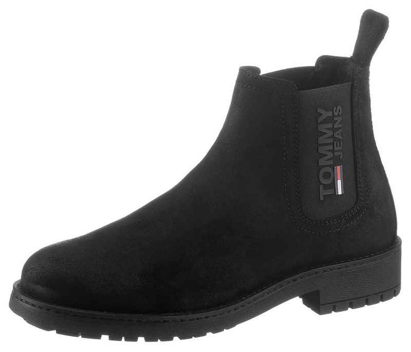 Tommy Jeans »CLASSIC TOMMY JEANS CHELSEA BOOT« Chelseaboots mit Logo auf dem Stretcheinsatz