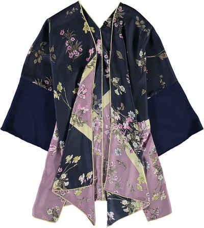 Fraas Poncho »Seiden Kimono« Upcycled Materials