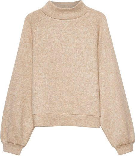 someday Sweatshirt »Udako« mit voluminösen Ärmeln und Kragen