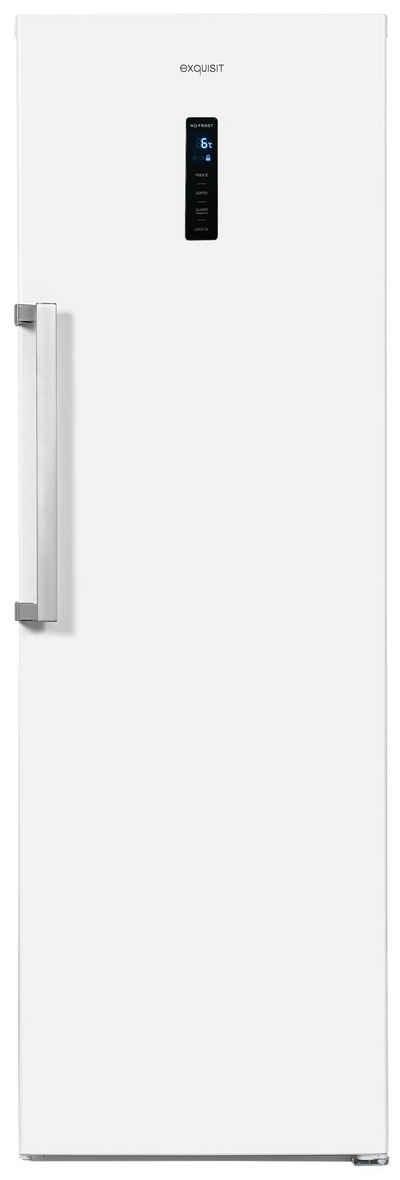 exquisit Kühlschrank KS360-V-HE-040E, 185 cm hoch, 60 cm breit, Schnell-Kühlfunktion, Urlaubsfunktion