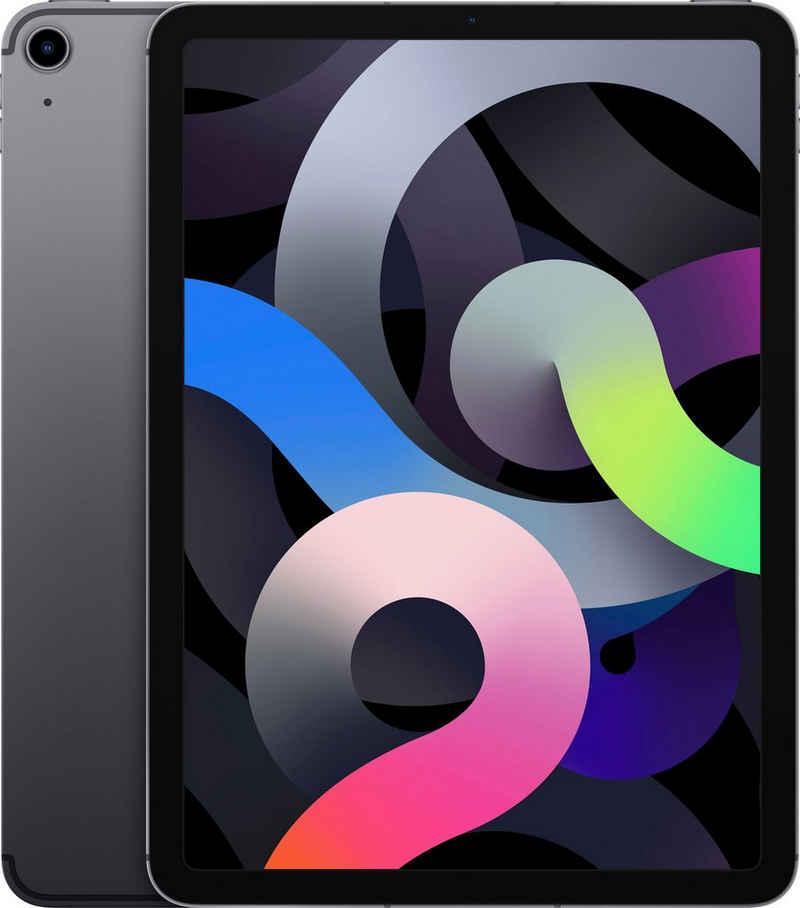 """Apple iPad Air (2020) Wi-Fi + Cellular 64GB Tablet (10,9"""", 64 GB, iPadOS, 4G (LTE), inkl. Ladegerät)"""