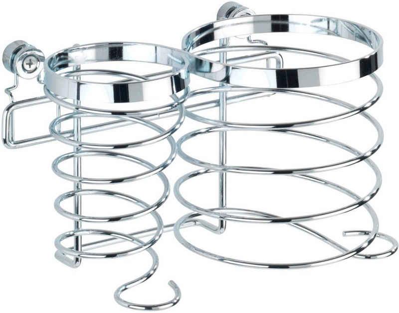 WENKO »Premium« Haartrocknerhalter, (für 2 Elektrogeräte)