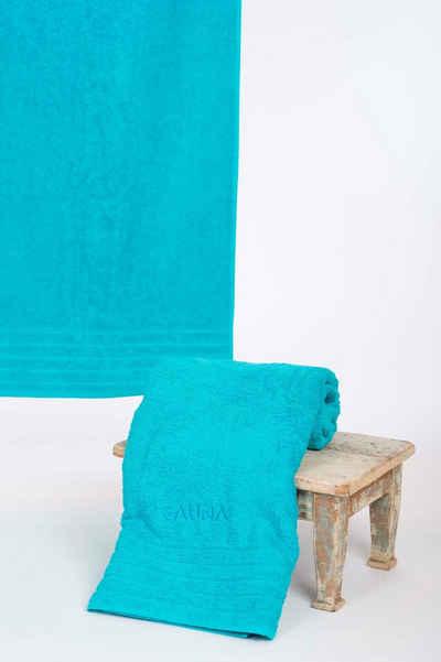 Wewo fashion Saunatuch »AIDA« (1-St), Bestickung SAUNA