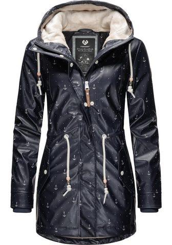 Ragwear Wintermantel »Monadis Rainy Black Labe...