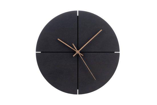 ONZENO Wanduhr »THE INTENSE.« (handgefertigte Design-Uhr)