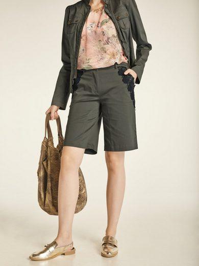 heine CASUAL Shorts mit attraktivem Spitzenbesatz mit attraktivem Spitzenbesatz mit attraktivem Spitzenbesatz