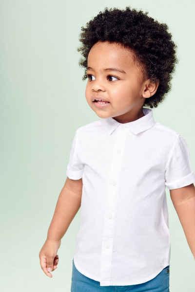 Next Kurzarmhemd »Kurzärmeliges Hemd aus Leinenmischgewebe« (1-tlg)