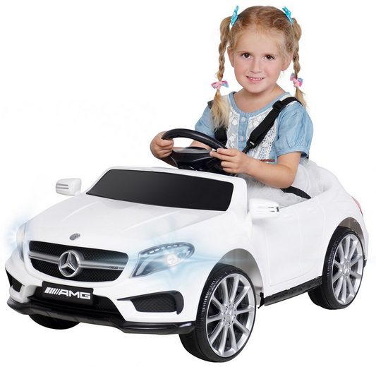 Actionbikes Motors Elektro-Kinderauto »Kinder Elektroauto Mercedes GLA 45 AMG«, Belastbarkeit 30 kg, inkl. Fernbedienung