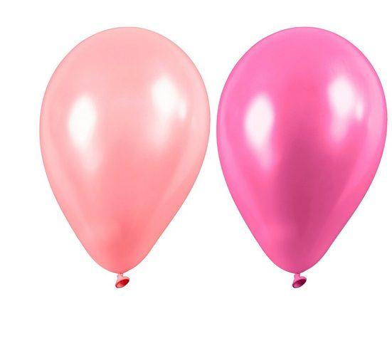 """Latexballons """"Helium oder Luft ca. 30 cm"""" 10 Stück"""