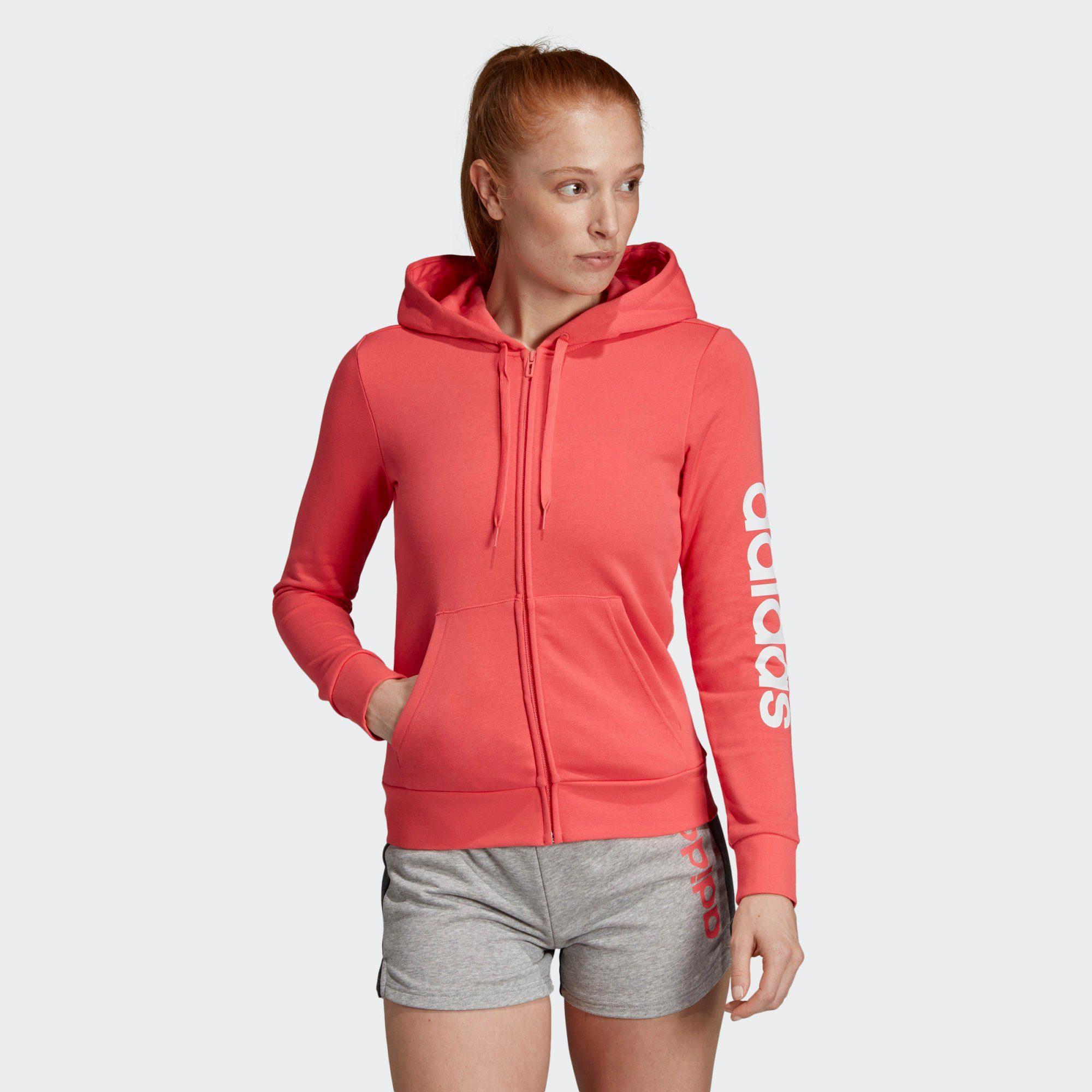 adidas Performance Sweatjacke »Essentials Linear Kapuzenjacke« Essentials online kaufen | OTTO