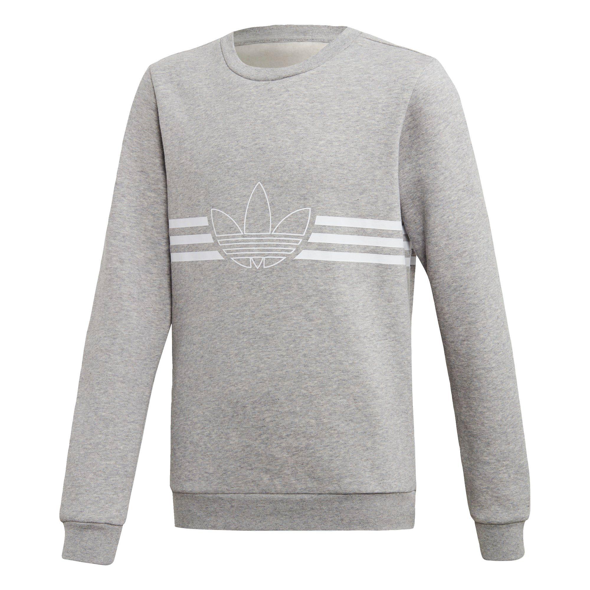 adidas Originals Sweatshirt »Outline Crew Sweatshirt« online kaufen | OTTO