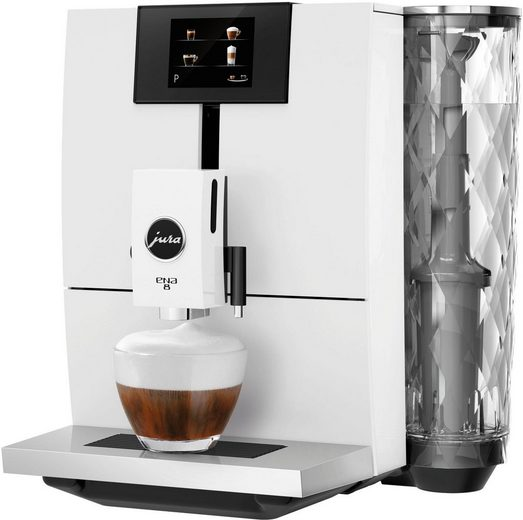 JURA Kaffeevollautomat ENA 8, Full Nordic White