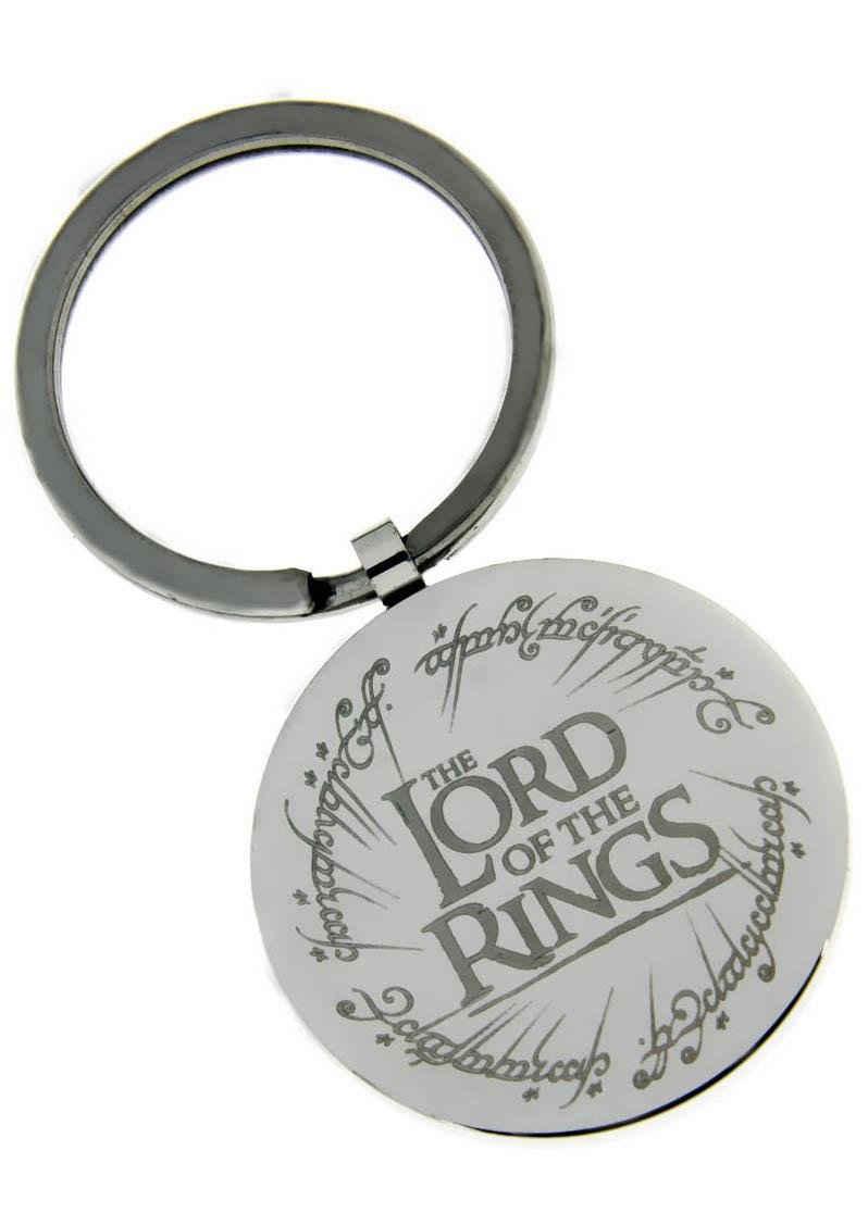 Der Herr der Ringe Schlüsselanhänger »THE LORD OF THE RINGS mit elbischen Runen, 20002178«, Made in Germany