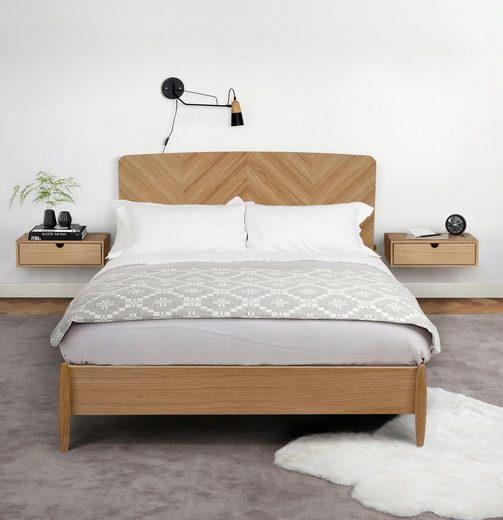 Woodman Bett »Farsta 1« im skandinavischen Design