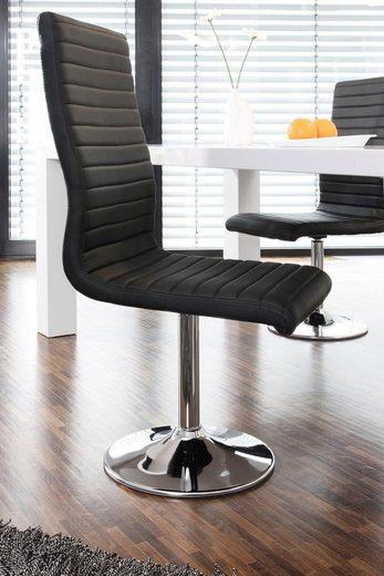 SalesFever Esszimmerstuhl mit Drehfunktion, im 4er-Set
