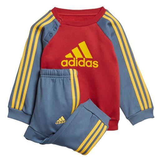 adidas Performance Trainingsanzug »Logo Fleece Jogginganzug«
